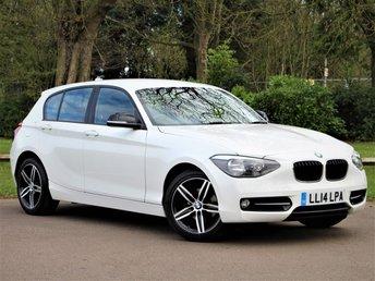 2014 BMW 1 SERIES 1.6 116I SPORT 5d 135 BHP £10495.00