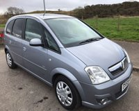 USED 2010 59 VAUXHALL MERIVA 1.6 DESIGN 16V 5d 100 BHP **BARGAIN PX PRICED TO CLEAR**