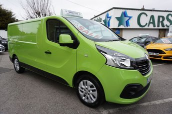 2016 RENAULT TRAFIC 2.9T 1.6 LL29 ENERGY DCI 120 SPORT 5DR ( NO VAT !! ) £15489.00
