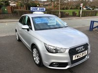 USED 2012 12 AUDI A1 1.4 TFSI SPORT 3d 122 BHP Buy with confidence from a garage that has been established  for 26 years.