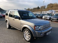 USED 2013 13 LAND ROVER DISCOVERY 3.0 4 SDV6 HSE 5d AUTO 255 BHP Only 43,500 miles with service history & just serviced
