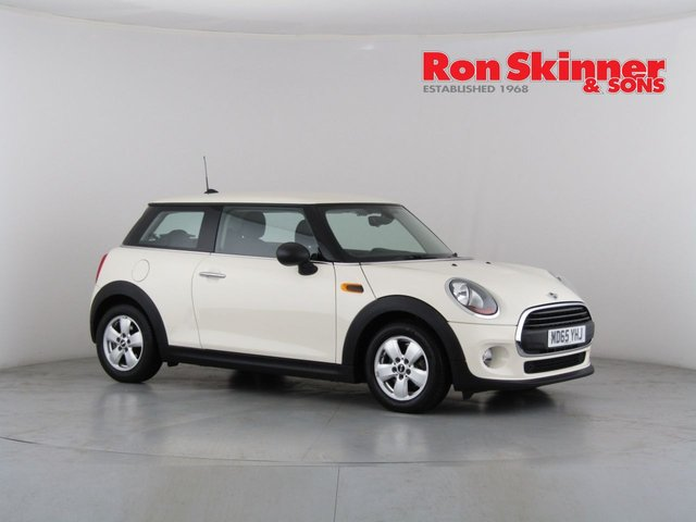 View our 2015 65 MINI HATCH ONE 1.5 ONE D 3d 94 BHP with Pepper Pack + 15in Alloys