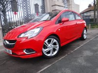 USED 2016 16 VAUXHALL CORSA 1.4 SRI VX-LINE ECOFLEX 3d 89 BHP ****FINANCE ARRANGED****PART EXCHANGE WELCOME***CRUISE*BLUETOOTH*AIR/CON*AUTO LIGHTS*TOUCH SCREEN*DAB*USB*ISOFIX