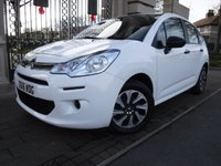 USED 2016 16 CITROEN C3 1.0 PURETECH VT 5d 67 BHP *** FINANCE & PART EXCHANGE WELCOME *** 1 OWNER FROM NEW £ 20 A YEAR ROAD TAX ELECTRIC MIRRORS / WINDOWS REMOTE LOCKING