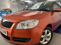 USED 2009 59 SKODA FABIA 1.2 LEVEL 2 HTP 5d 68 BHP LOW MILEAGE CAR