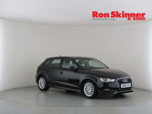View our 2016 16 AUDI A3 1.6 TDI ULTRA SE TECHNIK 5d 109 BHP