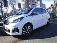 USED 2015 64 PEUGEOT 108 1.2 ALLURE TOP 5d 82 BHP ****FINANCE ARRANGED****PART EXCHANGE WELCOME***CRUISE*ELECTRIC ROOF*SH*BLUETOOTH*DAB*CLIMATE*AUTO LIGHTS*AUX