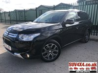USED 2015 15 MITSUBISHI OUTLANDER 2.3 DI-D GX 4 5d 147 BHP 7 SEATER SAT NAV LEATHER SUNROOF PRIVACY ONE OWNER 4WD. 7 SEATER. SATELLITE NAVIGATION. SUNROOF. STUNNING BLACK MET WITH FULL BLACK LEATHER TRIM. ELECTRIC HEATED SEATS. CRUISE CONTROL. 18 INCH ALLOYS. COLOUR CODED TRIMS. PRIVACY GLASS. REVERSING CAMERA. BLUETOOTH PREP. ELECTRIC TAILGATE. DUAL CLIMATE CONTROL INCLUDING AIR CON. MEDIA CONNECTIVITY. MFSW. TOW BAR. MOT 03/20. ONE OWNER FROM NEW. SERVICE HISTORY. SUV & 4X4 CAR CENTRE LS23 7FR. TEL 01937 849492 OPTION 2