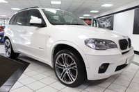 USED 2013 62 BMW X5 3.0 XDRIVE30D M SPORT AUTO   21 INCH M PERFORMANCE ALLOYS!