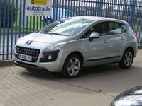 USED 2010 60 PEUGEOT 3008 1.6 SPORT HDI 5d 110 BHP Finance arranged Part exchange available Open 7 days