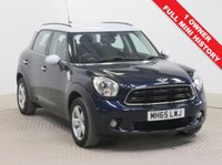 USED 2016 65 MINI COUNTRYMAN 1.6 COOPER 5d 122 BHP Stunning Mini Countryman 1.6 Petrol, which has just had 1 previous Owner, comes with Full Mini Service History, an MOT until 14th February 2020 and a free warranty. In addition this lovely car is fully equipped with Parking Sensors, Bluetooth, Air Conditioning, DAB Radio, CD, USB/AUX, Leather Multi Functional Steering Wheel, Metallic Paint, Alloy Wheels and 2 Keys. Nationwide Delivery Available. Finance Available at 9.9% APR Representative.