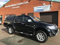 """USED 2015 15 MITSUBISHI L200 2.5 DI-D 4X4 CHALLENGER LB DCB 175 BHP  ***VAT FREE*** Cruise Control   :   Climate Control / Air Conditioning   :   17"""" Alloy Wheels       Front & Rear Electric Windows   :   Phone Bluetooth Connectivity   :   Full Service History"""