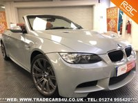 USED 2009 59 BMW M3  4.0 V8 CONVERTIBLE 6 SPEED MANUAL *INDIVIDUAL AVENTURINE SILVER* UK DELIVERY* RAC APPROVED* FINANCE ARRANGED* PART EX