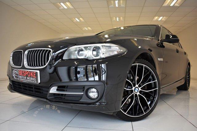 2014 64 BMW 5 SERIES 520D SE SALOON