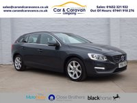USED 2014 64 VOLVO V60 2.0 D4 SE 5d 178 BHP One Owner Full Volvo History Buy Now, Pay Later Finance!