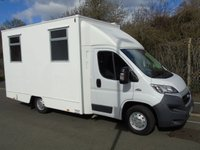USED 2015 65 FIAT DUCATO 2.3 JTD 35 MULTIJET 129 BHP MOBILE OFFICE/INCIDENT UNIT +1 OWNER+ONLY 980 MILES+240V