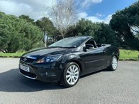 USED 2010 10 FORD FOCUS 2.0 CC2 2d 144 BHP CONVERTIBLE, LOW MILLAGE, SAT NAV, AC, READY TO GO, CHEAP SUMMER CAR!!!!
