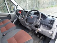 USED 2009 09 FIAT DUCATO 2.3MULTIJET 35 120 BHP 3.5T MWB CAGED TIPPER  1 OWNER+CAGED TIPPER+71K