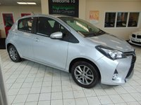 USED 2014 64 TOYOTA YARIS 1.0 VVT-I ICON 5d 69 BHP BLUETOOTH + AIR CONDITIONING + ALLOYS + ELECTRIC WINDOWS + DAB RADIO + SERVICE HISTORY + DEC 2019 MOT + CENTRAL LOCKING + POWER STEERING + £0 ROAD TAX