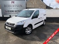 USED 2016 16 PEUGEOT PARTNER 1.6 HDI PROFESSIONAL 625  12MTHS MOT + JUST SERVICED