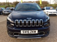 "USED 2015 15 JEEP CHEROKEE 2.0 M-JET LIMITED 5d 138 BHP ONE PRIVATE OWNER, FULL LEATHER, SAT NAV, 18"" ALLOYS, CLIMATE CONTROL, REVERSE CAMERA, PARKING SENSORS, 2 JEEP SERVICE STAMPS, SPARE KEY"