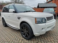 2009 LAND ROVER RANGE ROVER SPORT Super Charged 5.0 V8 HSE Automatic £19995.00