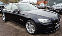 USED 2012 62 BMW 7 SERIES 3.0 730D M SPORT 4d AUTO 255 BHP 4 SERVICE STAMPS 2 PREVIOUS KEEPERS