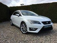 2015 SEAT LEON 2.0 TDI FR TECHNOLOGY DSG 3d AUTO 184 BHP £10990.00
