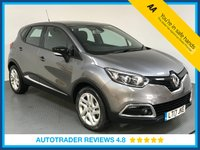 USED 2017 17 RENAULT CAPTUR 1.5 DYNAMIQUE NAV DCI 5d AUTO 90 BHP EURO 6 - FULL RENAULT SERVICE HISTORY - ONE OWNER - SAT NAV - AUX/USB - BLUETOOTH - CRUISE