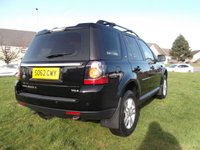 USED 2013 62 LAND ROVER FREELANDER 2.2 TD4 BLACK AND WHITE 5d AUTO 150 BHP 2 OWNERS, FSH!