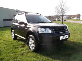 2013 LAND ROVER FREELANDER 2.2 TD4 BLACK AND WHITE 5d AUTO 150 BHP £9995.00
