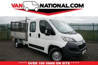 USED 2017 66 CITROEN RELAY 2.2 35 L3 HDI Double Cab Tipper 130 BHP (Lovely low miles alloy back) * 7 SEATS * READY TO GO TO WORK TODAY *