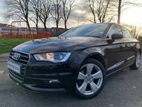 USED 2015 AUDI A3 2.0 TDI SPORT 4d 148 BHP 1OWNER+HISTORY+2KEYS+20TAX+CD+