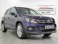 USED 2015 65 VOLKSWAGEN TIGUAN 2.0 MATCH EDITION TDI BMT 5d 148 BHP Main Dealer Service History and Satellite Navigation