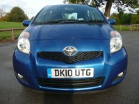 USED 2010 10 TOYOTA YARIS 1.4 TR D-4D 5d 89 BHP Superb Toyota Service History, One Owner, Only £20 To Tax, Very Economical