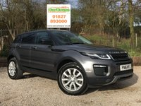 USED 2016 16 LAND ROVER RANGE ROVER EVOQUE 2.0 TD4 SE TECH 5dr AUTO Sat Nav, Xenons, Full Leather
