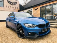 2016 BMW 4 SERIES 2.0 420D XDRIVE M SPORT GRAN COUPE 4d AUTO 188 BHP £20990.00