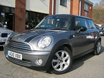 2010 MINI HATCH COOPER 1.6 COOPER GRAPHITE 3d 122 BHP £4495.00