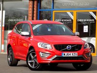 USED 2014 64 VOLVO XC60 2.0 D4 R Design Lux 5dr Geartronic ** Leather + Bluetooth **