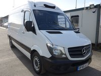 USED 2015 65 MERCEDES-BENZ SPRINTER 313 CDI MWB GAH CHILLER WITH STANDBY, 130 BHP [EURO 5]