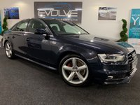 USED 2012 62 AUDI A4 2.0 TDI QUATTRO S LINE 4d 174 BHP IMMACULATE, LOW MILEAGE, F/S/H