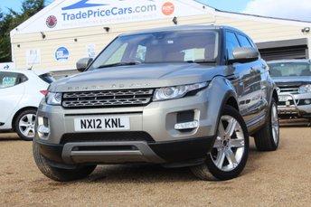 2012 LAND ROVER RANGE ROVER EVOQUE 2.2 SD4 PURE TECH 5d 190 BHP £16995.00