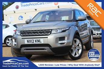 2012 LAND ROVER RANGE ROVER EVOQUE 2.2 SD4 PURE TECH 5d 190 BHP £16995.00
