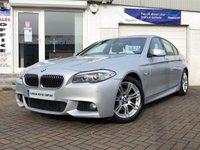 2011 BMW 5 SERIES 2.0 520D M SPORT 4d 181 BHP £9875.00