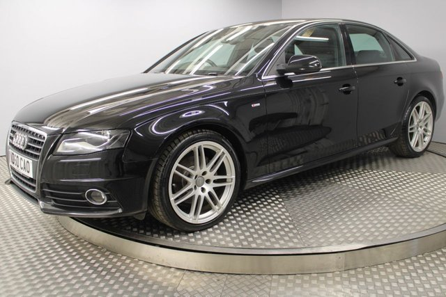 USED 2010 60 AUDI A4 2.0 TDI S LINE SPECIAL EDITION 4d 141 BHP