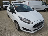 USED 2013 63 FORD FIESTA ECONETIC 1.6TDCI 94 BHP VAN ONE COMPANY OWNER, ONLY 25000m