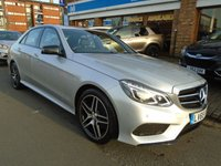 USED 2015 65 MERCEDES-BENZ E CLASS 2.1 E250 CDI AMG NIGHT EDITION 4d AUTO 201 BHP ONLY 1 OWNER & 26,000 MILES!