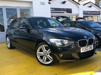 2013 BMW 1 SERIES 2.0 118D M SPORT 5d AUTO 141 BHP £12999.00