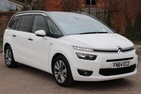 2014 CITROEN C4 GRAND PICASSO 1.6 E-HDI AIRDREAM EXCLUSIVE PLUS ETG6 5d AUTO 113 BHP £11995.00