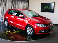 USED 2015 64 VOLKSWAGEN POLO 1.4 SE TDI BLUEMOTION 5d 74 BHP £0 DEPOSIT FINANCE AVAILABLE, AIR CONDITIONING, AUTOMATIC HEADLIGHTS, AUX INPUT, BLUETOOTH CONNECTIVITY, CLIMATE CONTROL, DAB RADIO, HEATED DOOR MIRRORS, START/STOP SYSTEM, STEERING WHEEL CONTROLS, TOUCH SCREEN HEAD UNIT, TRIP COMPUTER, USB INPUT, VOICE CONTROLS